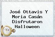 José Ottavis Y Moria Casán Disfrutaron <b>Halloween</b>