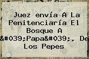 Juez <b>envía</b> A La Penitenciaría El Bosque A &#039;Papa&#039;, De Los Pepes