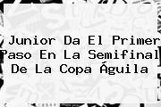 Junior Da El Primer Paso En La Semifinal De La <b>Copa Águila</b>