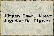 <b>Jürgen Damm</b>, Nuevo Jugador De Tigres