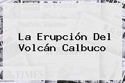 La Erupción Del <b>Volcán Calbuco</b>