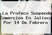 La Profeco Suspende Comercios En Jalisco Por <b>14 De Febrero</b>