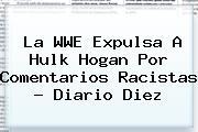 La WWE Expulsa A <b>Hulk Hogan</b> Por Comentarios Racistas - Diario Diez