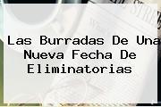 Las Burradas De Una Nueva Fecha De <b>Eliminatorias</b>