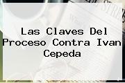 <b>Las Claves Del Proceso Contra Ivan Cepeda</b>