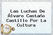 Las Luchas De <b>Álvaro Castaño Castillo</b> Por La Cultura