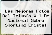 <b>Las Mejores Fotos Del Triunfo 0-1 De Nacional Sobre Sporting Cristal</b>