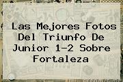 Las Mejores Fotos Del Triunfo De <b>Junior</b> 1-2 Sobre Fortaleza