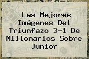 Las Mejores Imágenes Del Triunfazo 3-1 De Millonarios Sobre Junior
