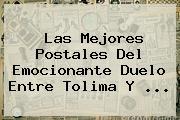 Las Mejores Postales Del Emocionante Duelo Entre <b>Tolima</b> Y ...