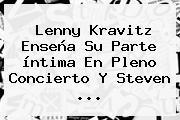 <b>Lenny Kravitz</b> Enseña Su Parte íntima En Pleno Concierto Y Steven <b>...</b>