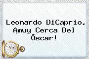 <b>Leonardo DiCaprio</b>, ¡muy Cerca Del Óscar!
