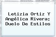 <b>Letizia Ortiz</b> Y Angélica Rivera: Duelo De Estilos