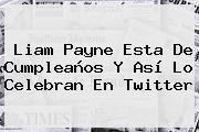 <b>Liam Payne</b> Esta De Cumpleaños Y Así Lo Celebran En Twitter