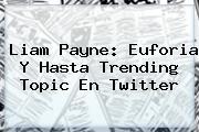<b>Liam Payne</b>: Euforia Y Hasta Trending Topic En Twitter