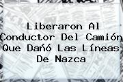 Liberaron Al Conductor Del Camión Que Dañó Las <b>Líneas De Nazca</b>