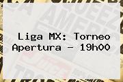 Liga MX: Torneo Apertura - 19h00