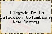 Llegada De La <b>Seleccion Colombia</b> A New Jersey
