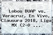 <b>Lobos</b> BUAP <b>vs</b>. <b>Veracruz</b>, En Vivo, Clausura 2018, Liga MX (2-0 ...
