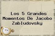 Los 5 Grandes Momentos De <b>Jacobo Zabludovsky</b>