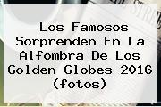 Los Famosos Sorprenden En La Alfombra De Los <b>Golden Globes 2016</b> (fotos)