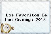 Los Favoritos De Los <b>Grammys 2018</b>