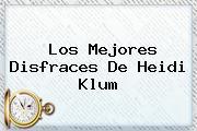 Los Mejores Disfraces De <b>Heidi Klum</b>