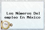 Los Números Del <b>empleo</b> En México