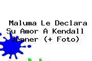 Maluma Le Declara Su Amor A <b>Kendall Jenner</b> (+ Foto)