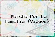 <b>Marcha Por La Familia</b> (Videos)