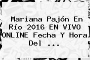 <b>Mariana Pajón</b> En Río 2016 EN VIVO ONLINE Fecha Y Hora Del ...