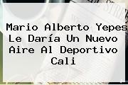 Mario Alberto Yepes Le Daría Un Nuevo Aire Al <b>Deportivo Cali</b>