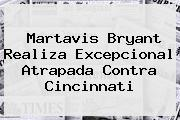 Martavis Bryant Realiza Excepcional Atrapada Contra <b>Cincinnati</b>