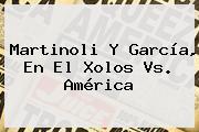 Martinoli Y García, En El <b>Xolos Vs. América</b>