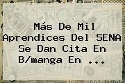 Más De Mil Aprendices Del <b>SENA</b> Se Dan Cita En B/manga En <b>...</b>