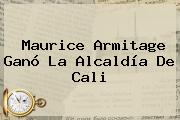 Maurice <b>Armitage</b> Ganó La Alcaldía De Cali