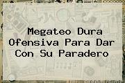 <b>Megateo</b> Dura Ofensiva Para Dar Con Su Paradero
