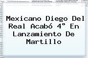 Mexicano <b>Diego Del Real</b> Acabó 4° En Lanzamiento De Martillo