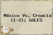 <b>México Vs. Croacia</b> (1-2): GOLES