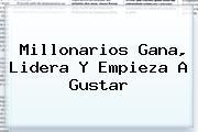 <b>Millonarios</b> Gana, Lidera Y Empieza A Gustar