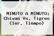 MINUTO A MINUTO: <b>Chivas Vs. Tigres</b> (1er. Tiempo)