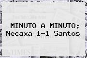 MINUTO A MINUTO: <b>Necaxa</b> 1-1 <b>Santos</b>