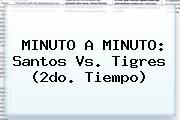 MINUTO A MINUTO: Santos Vs. <b>Tigres</b> (2do. Tiempo)