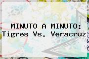 MINUTO A MINUTO: <b>Tigres Vs</b>. <b>Veracruz</b>