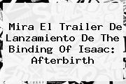 Mira El Trailer De Lanzamiento De The Binding Of Isaac: <b>Afterbirth</b>