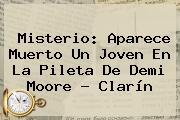 Misterio: Aparece Muerto Un Joven En La Pileta De <b>Demi Moore</b> - Clarín