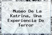 Museo De La <b>Katrina</b>, Una Experiencia De Terror