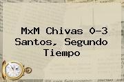 MxM <b>Chivas</b> 0-3 <b>Santos</b>, Segundo Tiempo