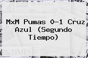 MxM <b>Pumas</b> 0-1 <b>Cruz Azul</b> (Segundo Tiempo)