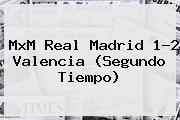 MxM <b>Real Madrid</b> 1-2 <b>Valencia</b> (Segundo Tiempo)